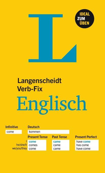 Langenscheidt Verb-Fix Englisch als Buch