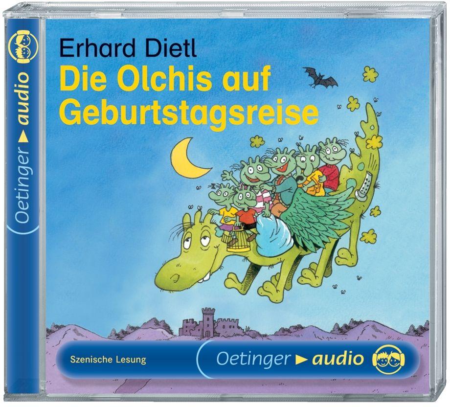 Die Olchis auf Geburtstagsreise. CD als Hörbuch