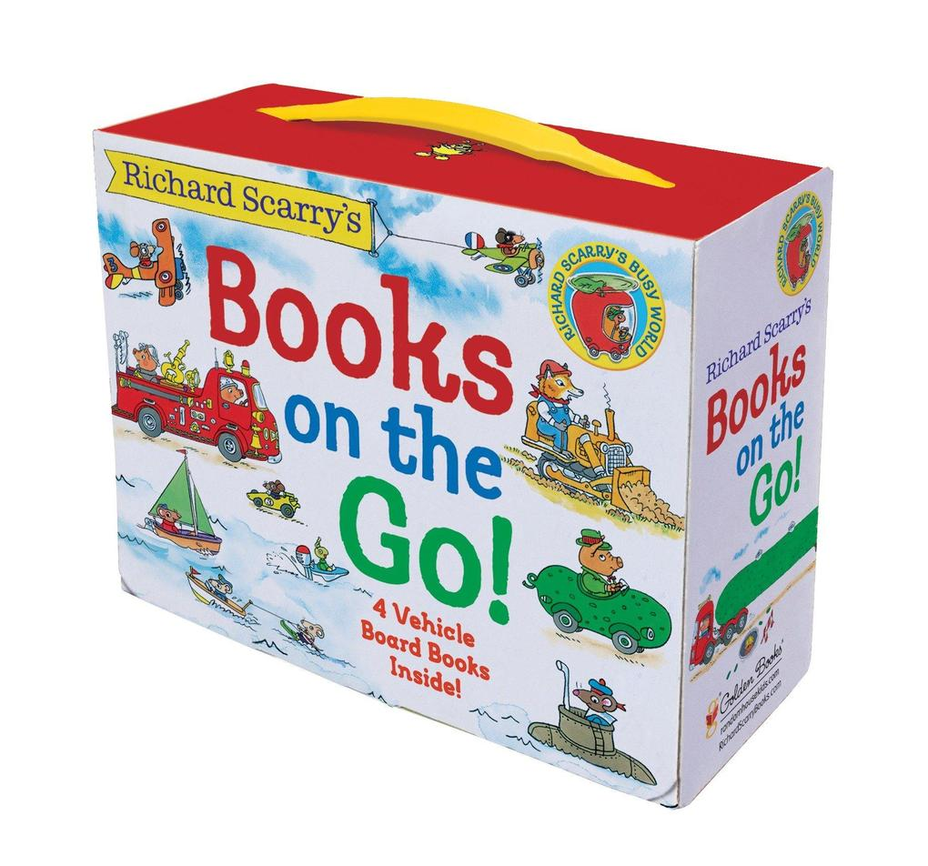 Richard Scarry's Books on the Go als Buch