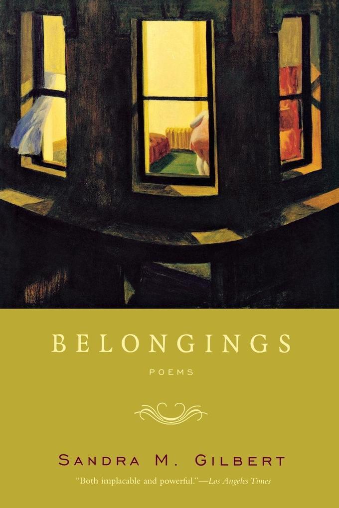 Belongings: Poems als Taschenbuch