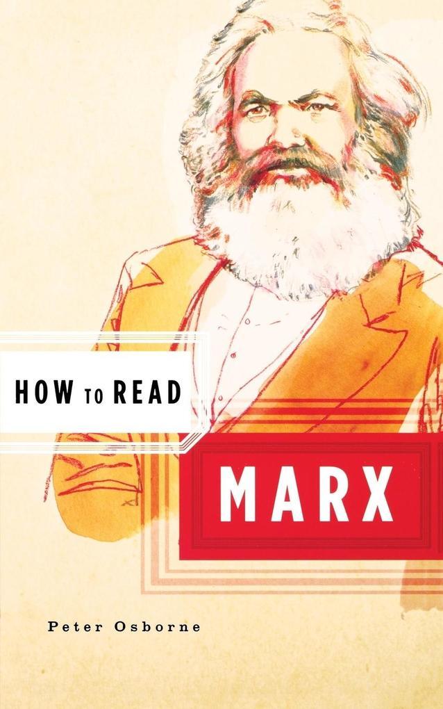 How to Read Marx als Taschenbuch