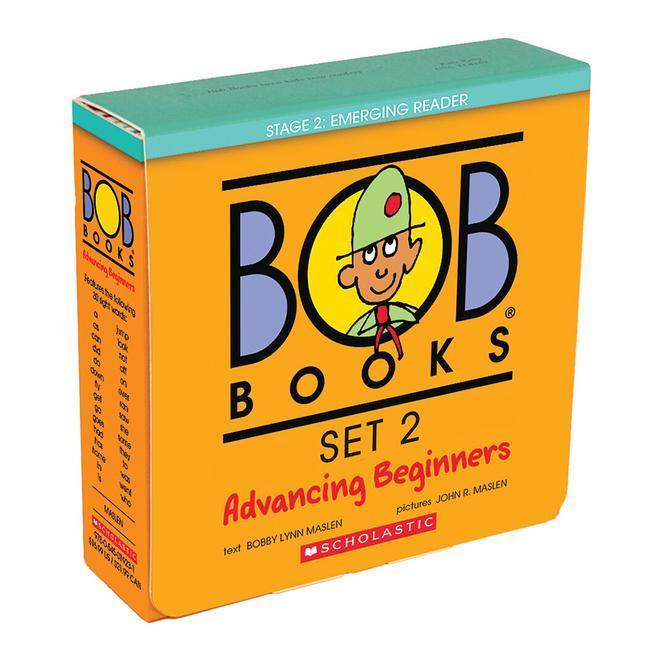Bob Books Set 2: Advancing Beginners als Taschenbuch