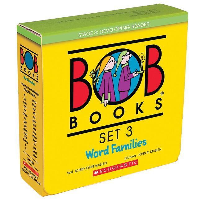 Bob Books Set 3: Word Families als Taschenbuch