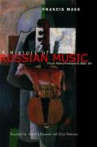 History of Russian Music als Buch