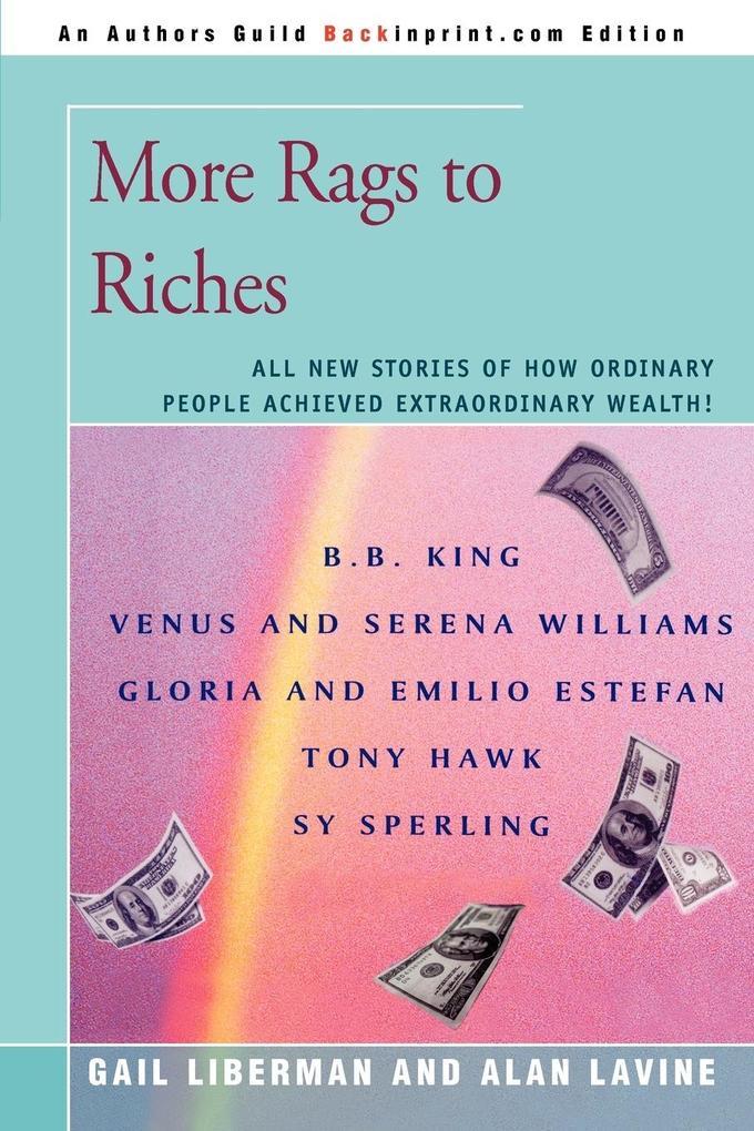 More Rags to Riches als Taschenbuch
