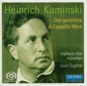 Das Geistliche A-Cappella-Werk als CD