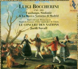 Fandango,Sinfonie & La Musica Nott... als CD