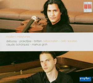 Modern Milestones-Cellosonaten als CD