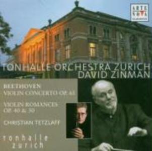 Beethoven: Violinkonzert und Romanzen als CD