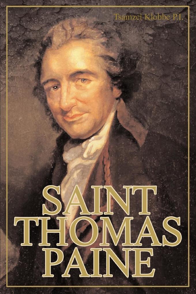 Saint Thomas Paine als Taschenbuch