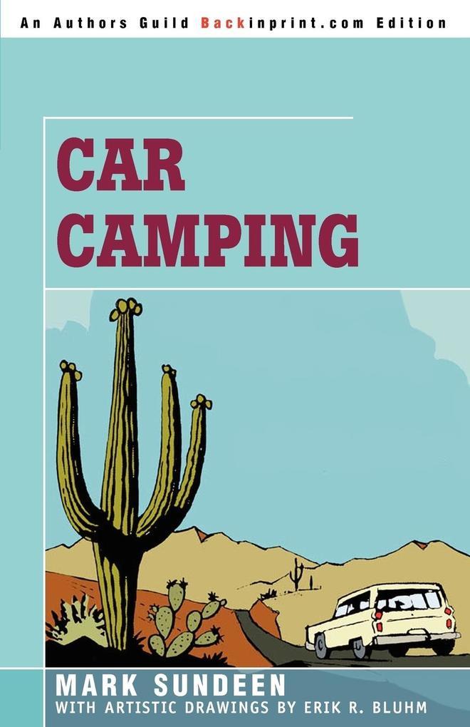 Car Camping als Taschenbuch