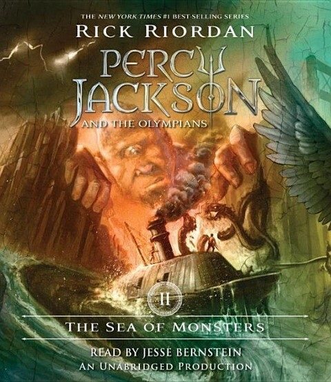 The Sea of Monsters als Hörbuch