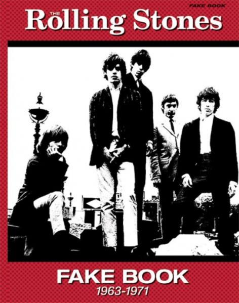 The Rolling Stones Fake Book (1963-1971): Fake Book Edition, Comb Bound Book als Taschenbuch