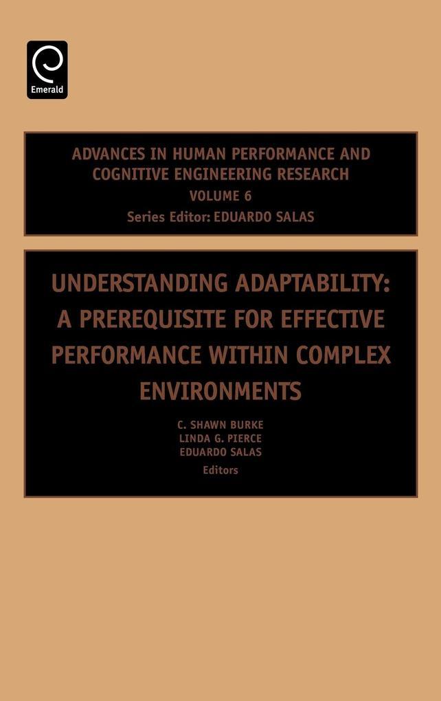 Understanding Adaptability als Buch