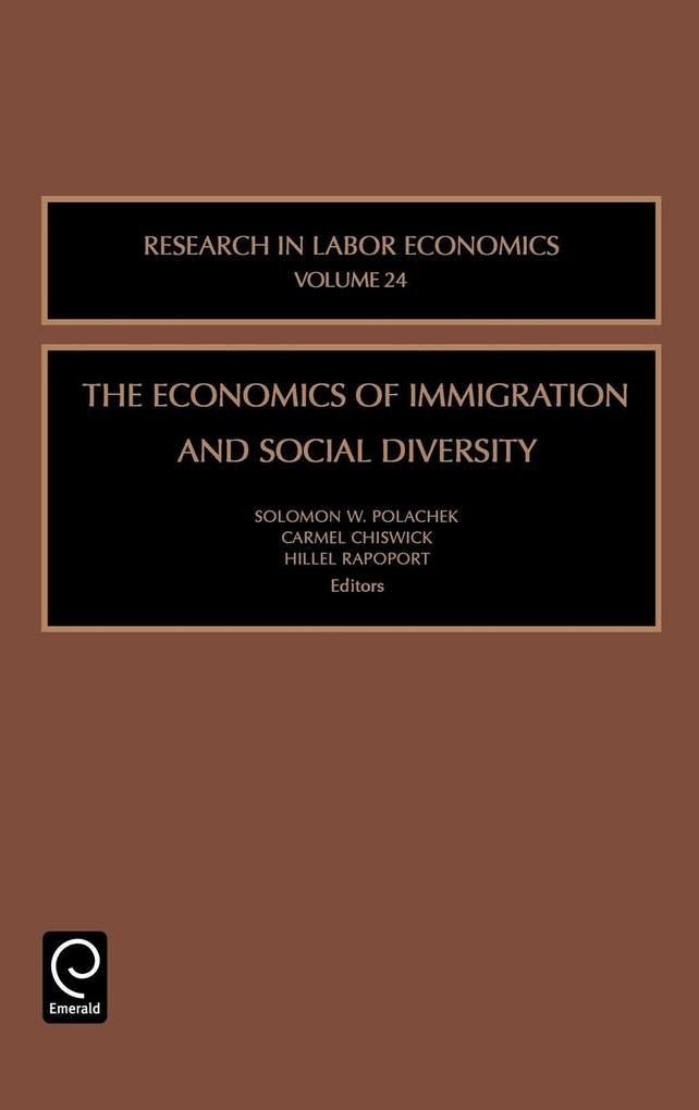 The Economics of Immigration and Social Diversity als Buch