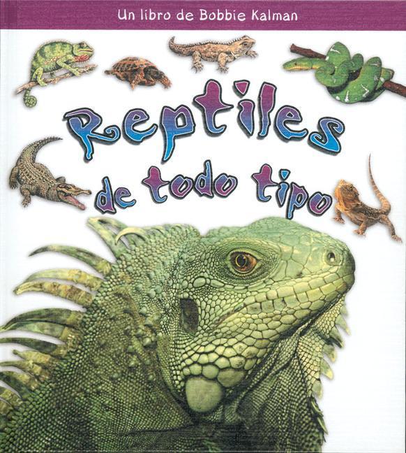 Reptiles de Todo Tipo als Buch