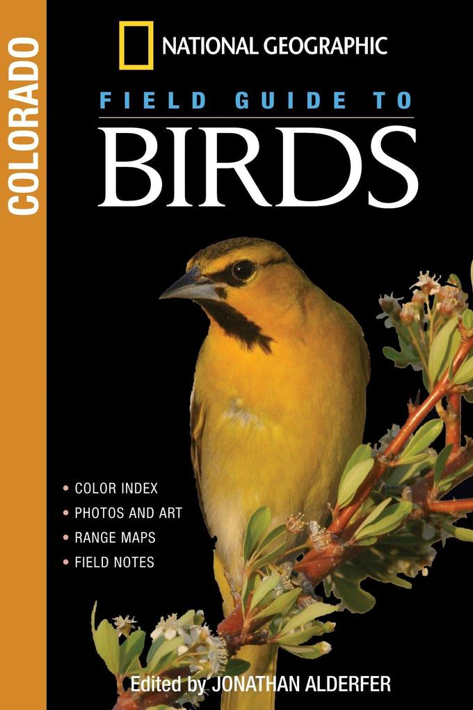 National Geographic Field Guide to Birds: Colorado als Taschenbuch