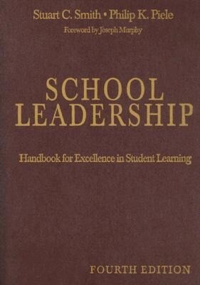 School Leadership: Handbook for Excellence in Student Learning als Buch