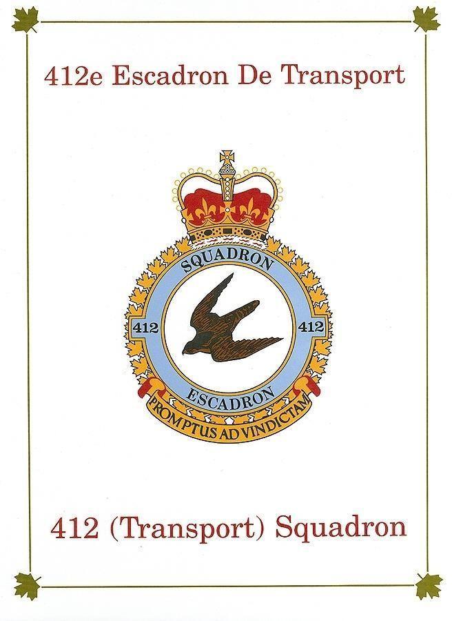 412e Escadron de Transport: 412 (Transport) Squadron als Buch