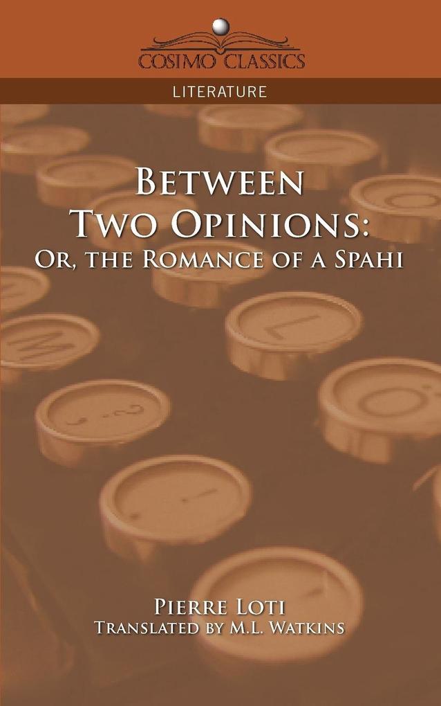 Between Two Opinions als Taschenbuch