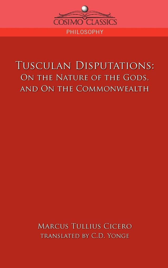 Tusculan Disputations als Taschenbuch