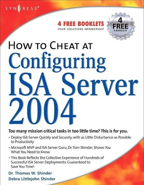 How to Cheat at Configuring ISA Server 2004 als Buch