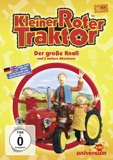 Kleiner roter Traktor als DVD
