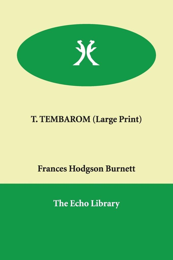 T. Tembarom als Buch