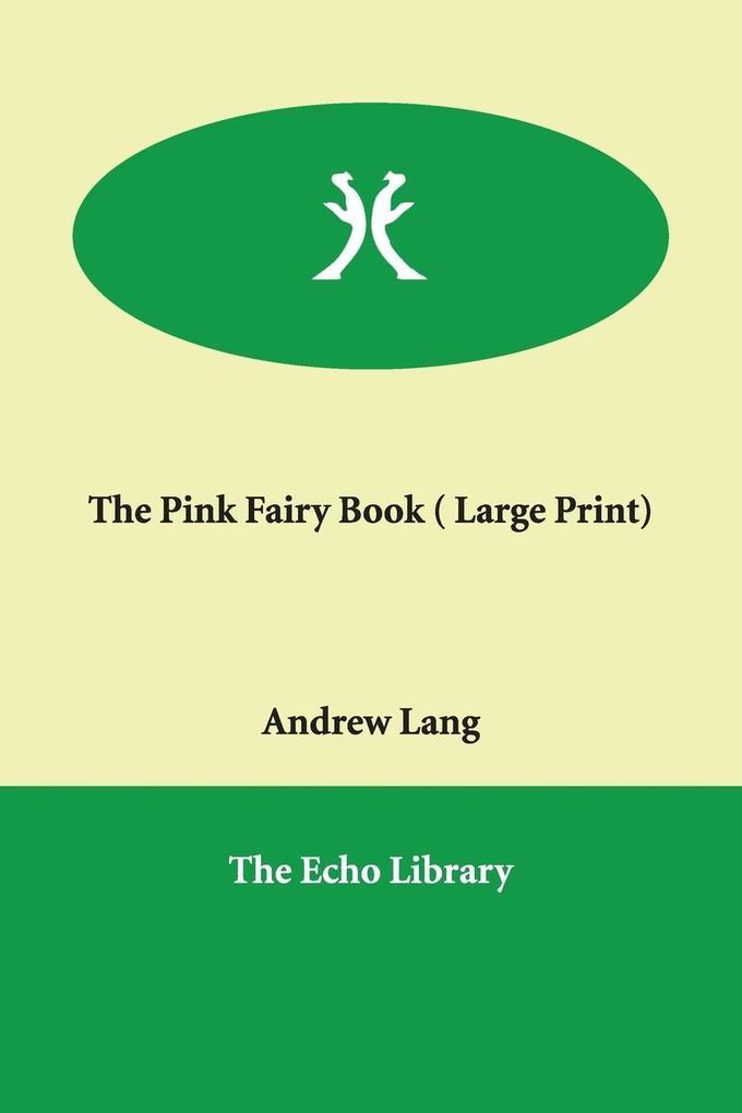The Pink Fairy Book als Taschenbuch