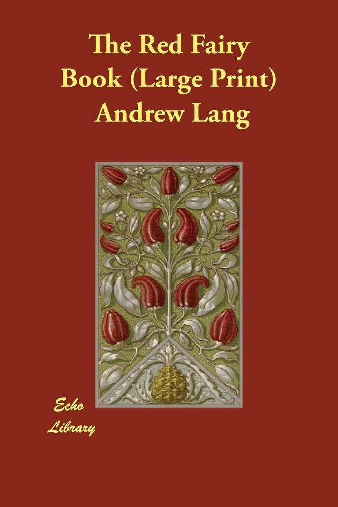 The Red Fairy Book als Taschenbuch
