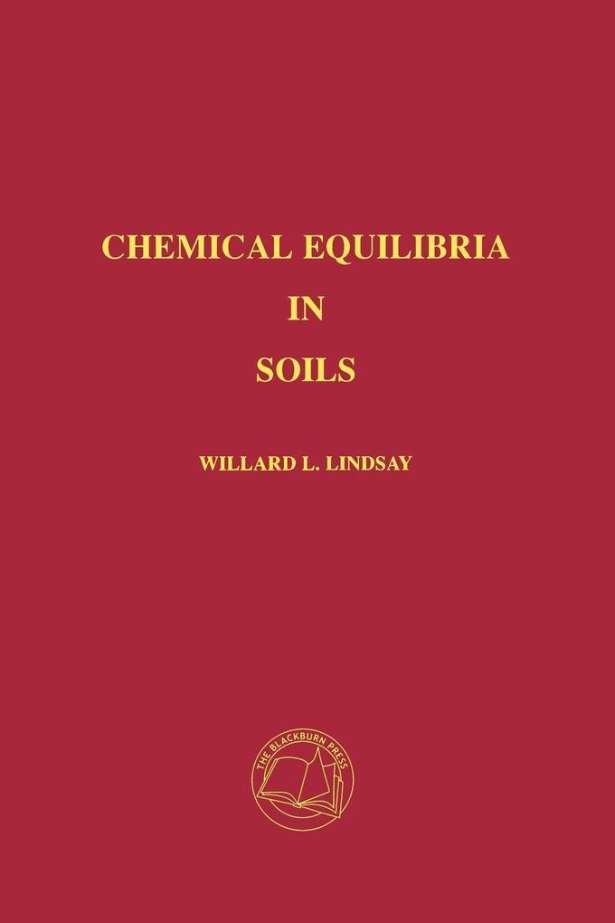 Chemical Equilibria in Soils als Taschenbuch