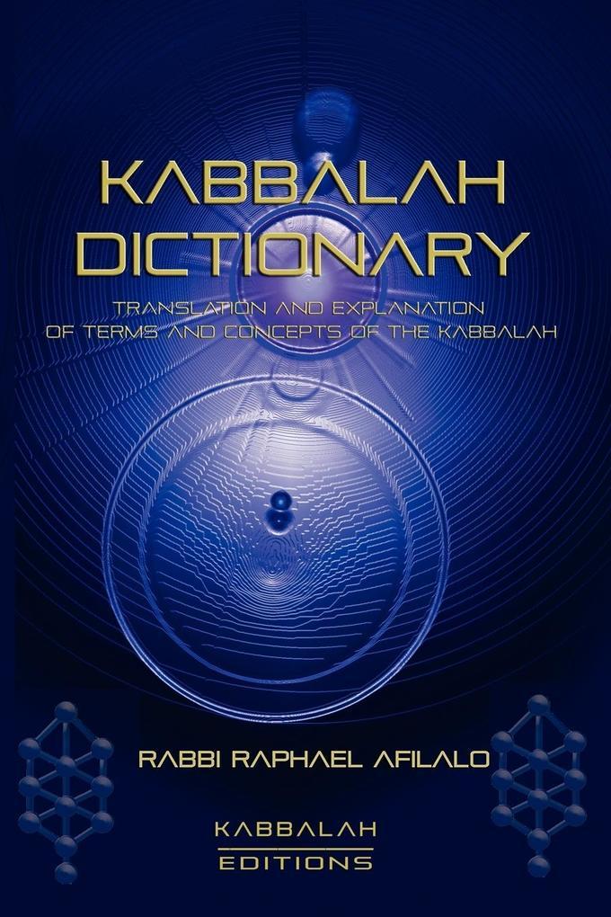 Kabbalah Dictionary als Taschenbuch