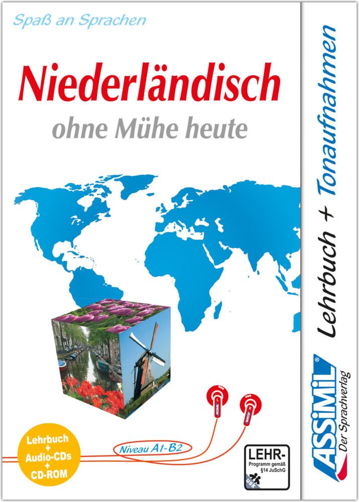 Assimil. Niederländisch ohne Mühe heute. Multimedia-PLUS. Lehrbuch und 4 Audio CDs und CD-ROM für Win 98 / ME / 2000 / XP als Software