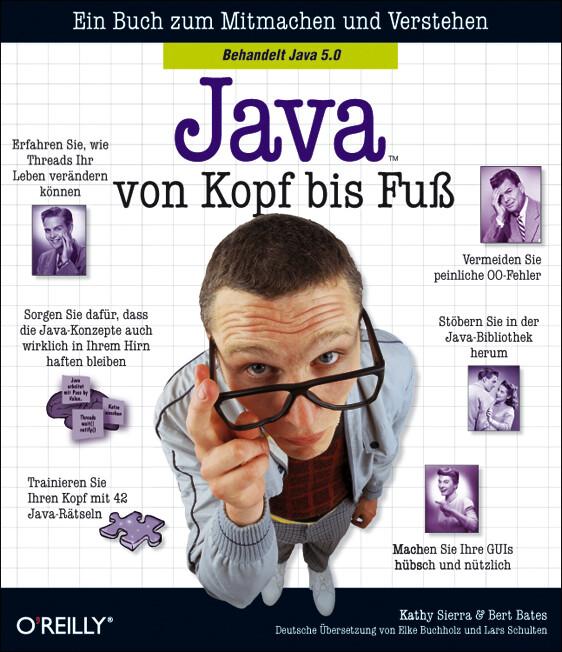 Java von Kopf bis Fuß als Buch