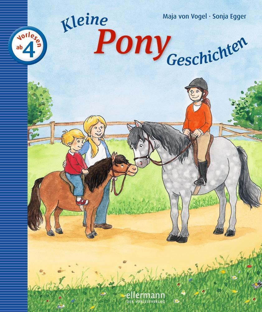 Kleine Pony-Geschichten zum Vorlesen als Buch