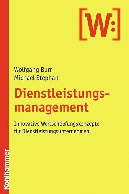 Dienstleistungsmanagement als Buch von Wolfgang...