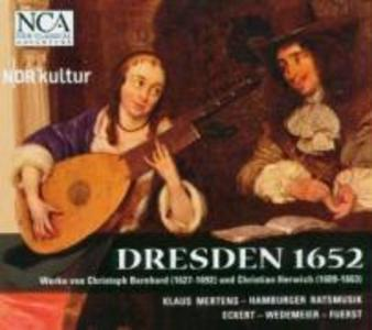 Dresden 1652 als CD