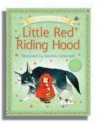 Usborne Fairytale Sticker Stories Little Red Riding Hood als Taschenbuch