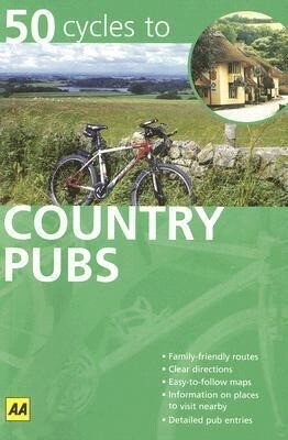 AA 50 Cycles to Country Pubs als Taschenbuch