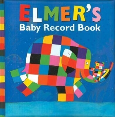 Elmer's Baby Record Book als Buch