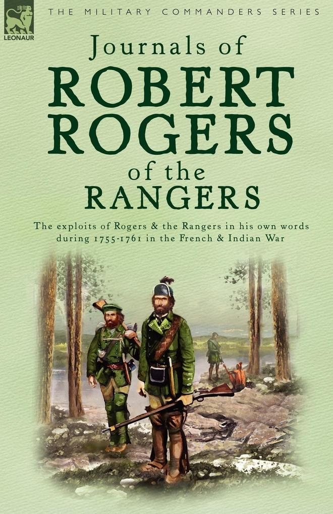 Journals of Robert Rogers of the Rangers als Buch