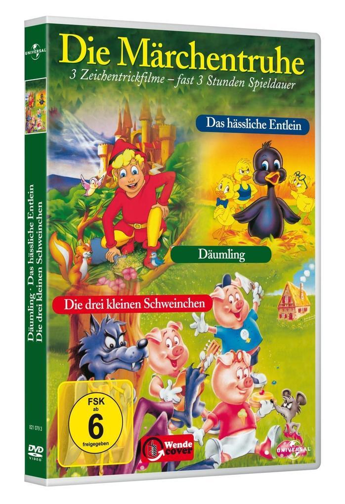 Die Märchentruhe als DVD
