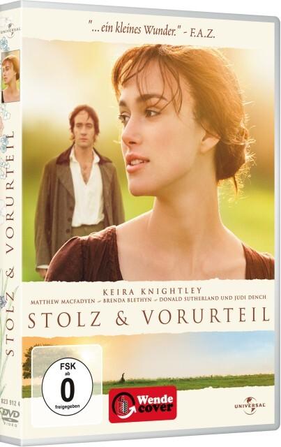 Stolz und Vorurteil (2005) als DVD