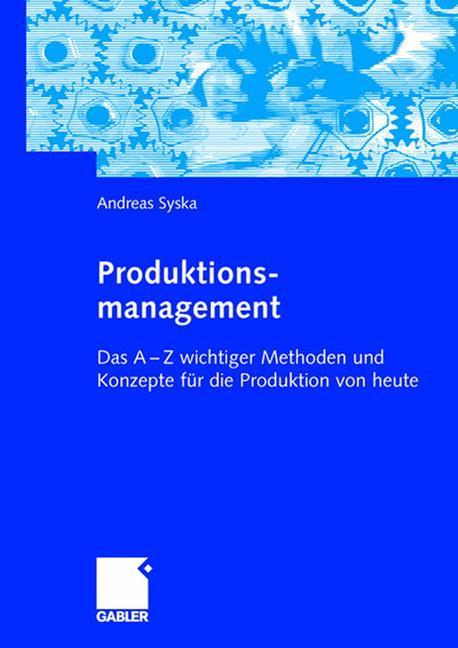 Produktionsmanagement als Buch