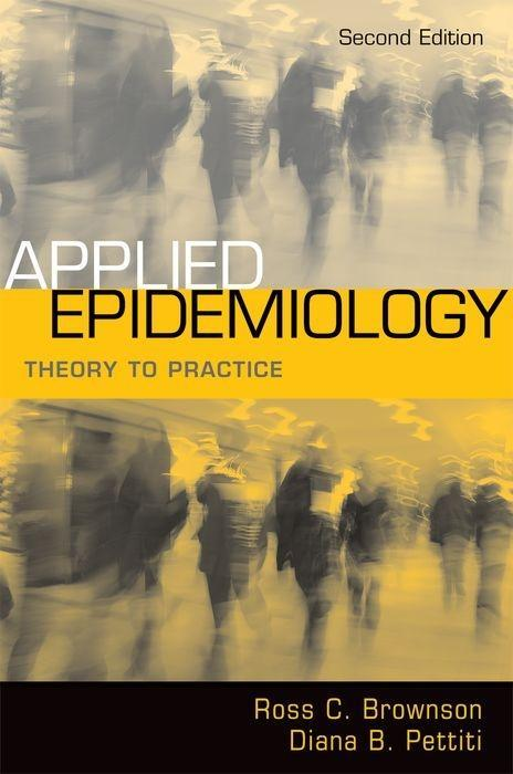Applied Epidemiology: Theory to Practice als Buch