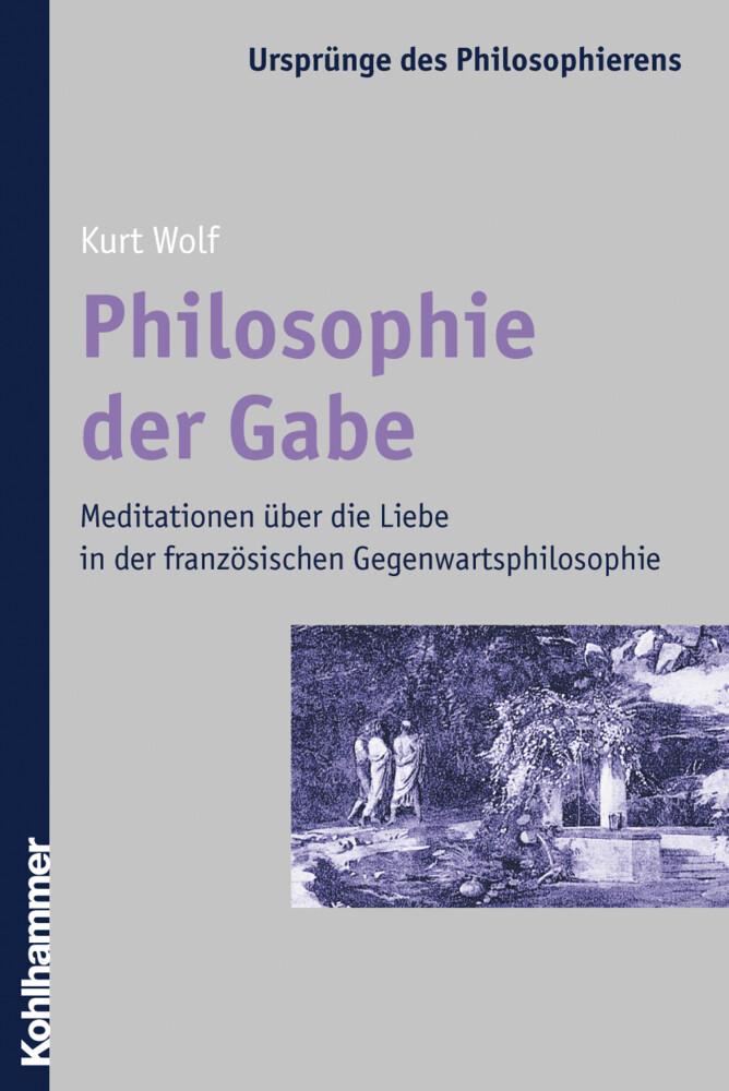 Philosophie der Gabe als Buch