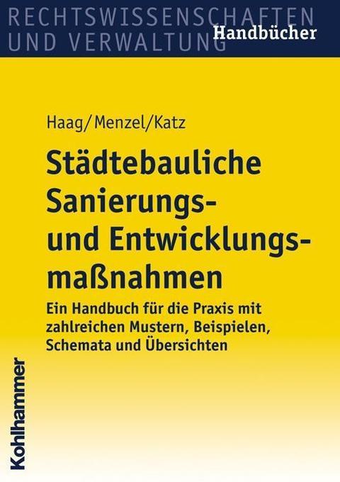 Städtebauliche Sanierungs- und Entwicklungsmassnahmen als Buch