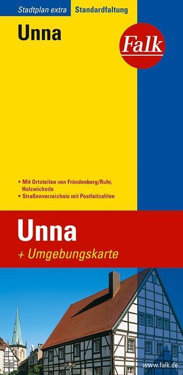 Falk Stadtplan Extra Standardfaltung Unna 1 : 17 000 als Buch