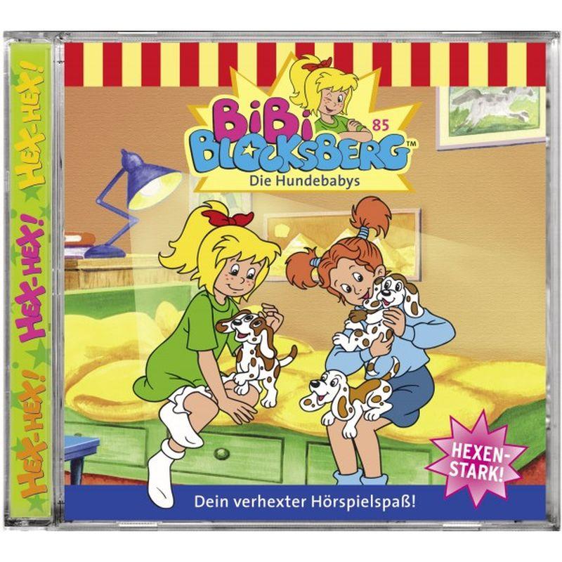 Bibi Blocksberg 085. Die Hundebabys. CD als Hörbuch