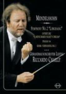Sinfonie 2/Lobgesang als DVD